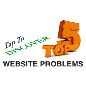 Top Five Website Problems